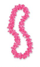 Pink Hawaiian Flower Lei